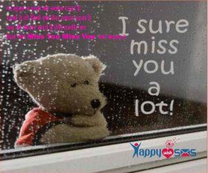 miss u Shayari :ना सुबह न शाम का ख्याल रहता है,,