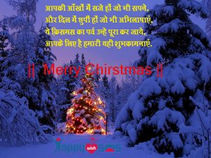 Best Chirstmas Wishes 2018 : aapki aankho main jo bhi saje ho jo bhi sapne