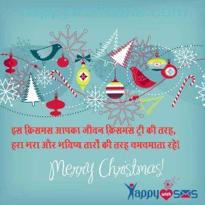 Best Chirstmas Wishes 2018 : इस क्रिसमस आपका जीवन क्रिसमस ट्री की तरह,