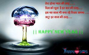 Best New Year Wishes 2018 : तेरा होना प्यार की तरह ,..