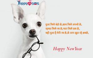 New year wishes : दुआ मिले बंडो से,साथ मिले अपनो से,