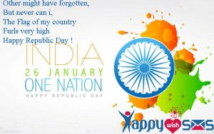 Republic Day Sms : her might have forgotten,