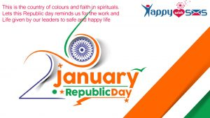 Republic Day Sms :This is the country of colorep1urs and faith in spirituals.