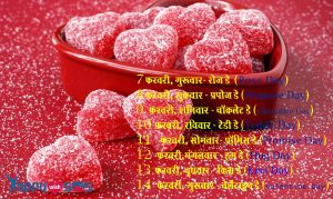 Valentine Day List 2019 : 7 फरवरी, गुरूवार- रोज डे (Rose Day)